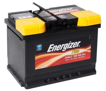 Аккумулятор ENERGIZER 60e 560 408 054 ENERGIZER PLUS EP60L2