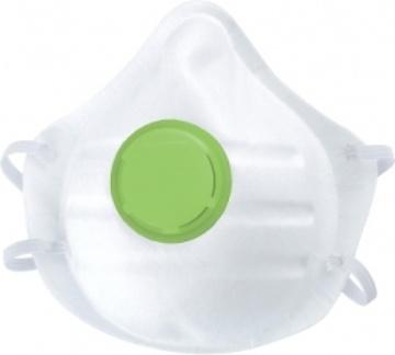 Полумаска фильтрующая (респиратор), с клапаном выдоха, FFP1//СИБРТЕХ