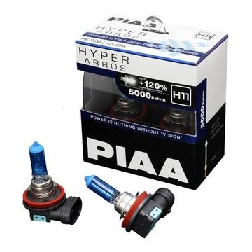 Комплект автоламп PIAA H11 55W 12V 5000K
