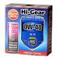 Масло моторное синтетическое Hi-Gear 0W40 SN/CF 4л + подарок промывка HG2205