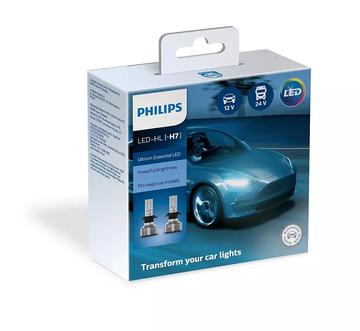 Комплект автоламп Philips H7 LED Ultinon Essential gen2 6500K