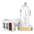 Зарядное устройство с вольтметром/амперметром UCC-2-26-VM-W WIIIX белый