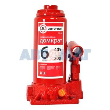 Домкрат гидравлический бутылочный 405 мм  6 т 1/5