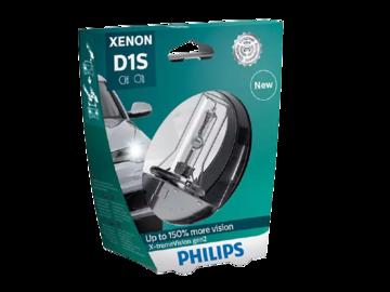 Лампа автомобильная PHILIPS E-xtreme Vision GEN2 D1S 35W ксеноновая 1шт.
