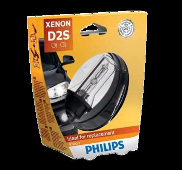 Лампа автомобильная PHILIPS Vision D2S 35W ксеноновая 1 шт.