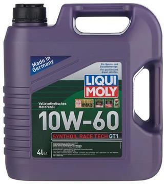 Масло моторное LIQUI MOLY Synthoil RaceTech GT 1 10W60 4л синтетическое