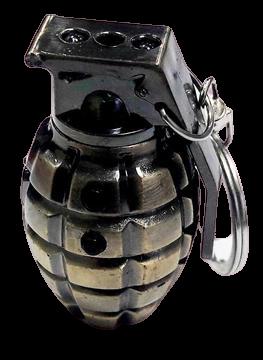 """Брелок """" Граната Ф1"""" (с лазерной указкой и фонариком) BGM 004"""