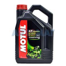 Масло моторное Motul 5100 4T 10w30 4л полусинтетическое