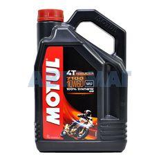Масло моторное Motul 7100 4T 10w60 4л синтетическое