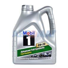 Масло моторное Mobil 1 Advanced Fuel Economy 0w20 4л синтетическое