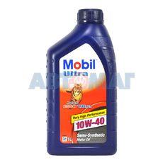 Масло моторное MOBIL ULTRA 10w40 1л полусинтетическое