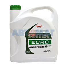 Антифриз готовый к применению Sintec EURO G11 зеленый -40, 5 кг