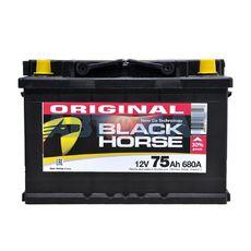 Аккумулятор BLACK HORSE - 75А/ч 680А +D