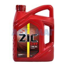 Масло трансмиссионное ZIC G-FF 75w85 GL-4 4л синтетическое