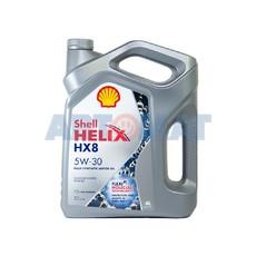Масло моторное Shell Helix HX8 5W30 4л синтетическое