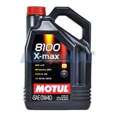 Масло моторное Motul 8100 X-max 0w40 4л синтетическое