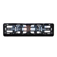 Рамка под номерной знак черная AutoStandart