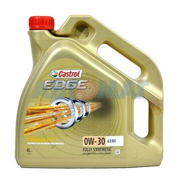 Масло моторное Castrol EDGE A3/B4 0w30 4л синтетическое