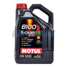 Масло моторное Motul 8100 X-Clean FE 5w30 5л синтетическое