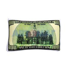 Подушка декоративная АНТИСТРЕСС - Доллар 10х17
