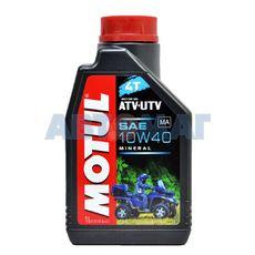 Масло моторное Motul ATV-UTV 4T 10w40 1л минеральное
