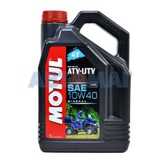 Масло моторное Motul ATV-UTV 4T 10w40 4л минеральное