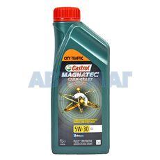 Масло моторное Castrol Magnatec Stop-Start 5w30 C3 1л синтетическое