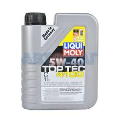 Масло моторное LIQUI MOLY НС 5w40 Top Tec 4100 A3/B4/C3 1л синтетическое