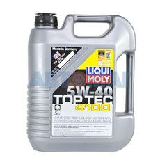 Масло моторное LIQUI MOLY НС 5w40 Top Tec 4100 A3/B4/C3 5л синтетическое