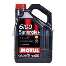 Масло моторное Motul 6100 Synergie+ 5w40 4л полусинтетическое