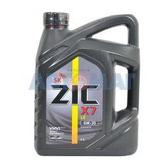 Масло моторное ZIC X7 LS 5w30 4л синтетическое
