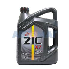 Масло моторное ZIC X7 LS 10w40 6л синтетическое