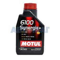 Масло моторное Motul 6100 Synergie+ 5w30 1л полусинтетическое