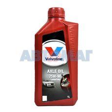 Масло трансмиссионное Valvoline Axle Oil LS 75w90 1л синтетическое