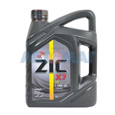 Масло моторное ZIC X7 LS 10w40 4л синтетическое