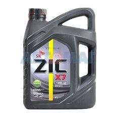 Масло моторное ZIC X7 Diesel 10w40 4л синтетическое