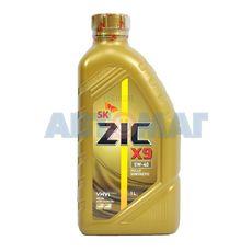 Масло моторное ZIC X9 5w40 1л синтетическое