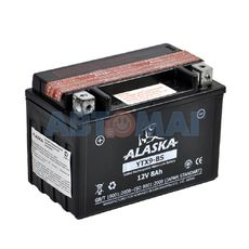 Аккумулятор мото  ALASKA  YTX9-BS 8 А/ч
