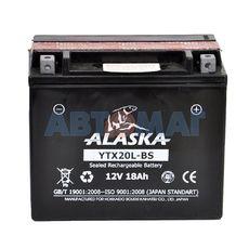 Аккумулятор мото ALASKA YTX20L-BS - 18 А/ч