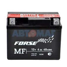 Аккумулятор мото Forse YTX4L-BS - 4 А/ч