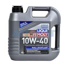 Масло моторное LIQUI MOLY Leichtlauf MoS2 10w40 4л полусинтетическое с молибденом