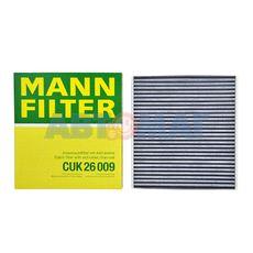 Фильтр салонный угольный MANN CUK 26 009