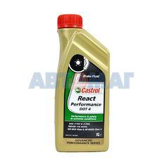 Жидкость тормозная Castrol React Performance DOT-4 1л