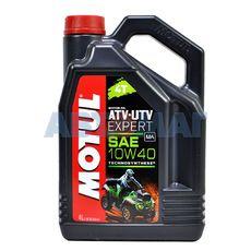 Масло моторное Motul ATV-UTV Expert 4T 10w40 4л полусинтетическое