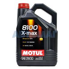 Масло моторное Motul 8100 X-max 0w30 5л синтетическое