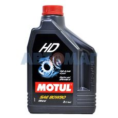 Масло трансмиссионное Motul HD 80w90 GL-4/5 2л минеральное