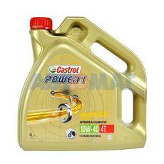 Масло моторное Castrol Power 1 4T 10w40 4л масло полусинтетическое