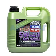 Масло моторное LIQUI MOLY Molygen New Generation 5w40 4л синтетическое