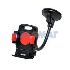 Держатель телефона/смартфона с кнопкой фиксации зажима HT-WIIIX-01Nr на длинной штанге