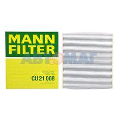 Фильтр салонный MANN CU 21 008